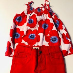 Osh Kosh Shorts Set